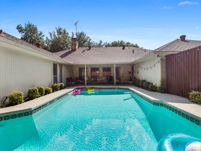 Photo for Amazing Pool! Grill! Large Home! Upscale Dallas area! Heated Pool and Spa option
