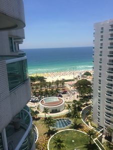 Photo for Flat in front of the beach of Barra da Tijuca inside hotel WYNDHAN
