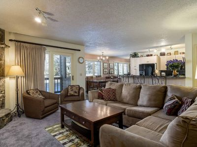 Photo for Bright & updated condo across the street from gondola w/ resort amenities