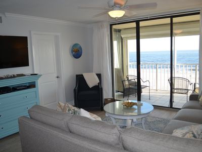 Photo for Beautifully Renovated Condo! Beach chair rental included!