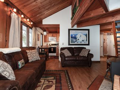 Photo for ★Whitefish's |#❶ Getaway | Sleeps 5 ★ Loft ★ Hot Tub