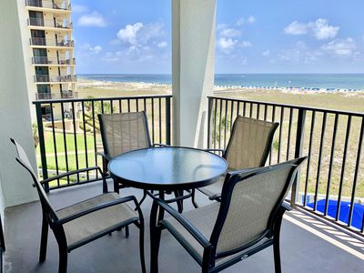 Photo for Amazing Views From This 2 BR Beachfront Condo on the 3rd Floor!