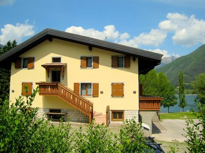 Photo for Cozy holiday apartment just 50 meters from Lake Ledro