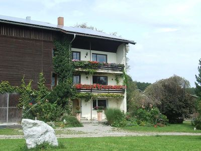 Photo for Attractive apartment in a single farm location with alpine panorama - Fewo Bronner