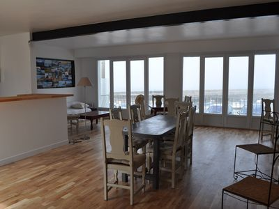 Photo for House overlooking the sea, exceptional view Portivy, Quiberon - Wild sea view House