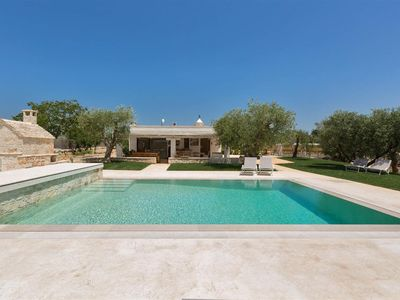 Photo for 964 Luxury Trulli with Pool and Wine Cellar in Alberobello