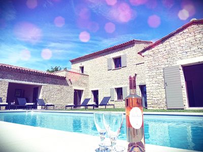 Photo for Provencal villa with pool