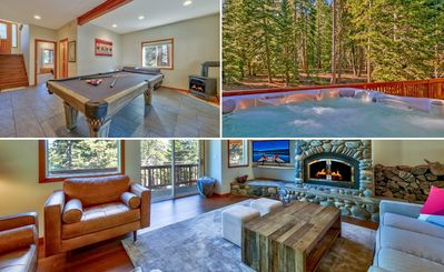 Photo for Newly updated Tahoe Donner home - private Hot Tub & Pool Table/Ping Pong Table