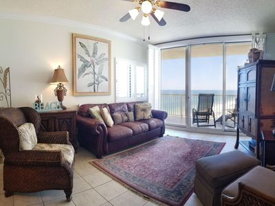 Photo for Club Level Beach Club A1803 K,Q,2Twns,Ss - Direct Gulf View-Wifi-Grill