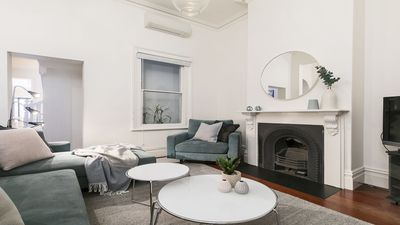 Photo for Victorian Terrace, Luxurious 4 Bed 2 Bath house at Lygon Street