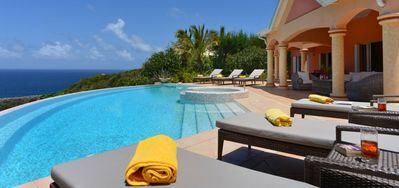 Villa Sea Bird  -  Ocean View - Located in  Exquisite Mont Jean with Private Pool
