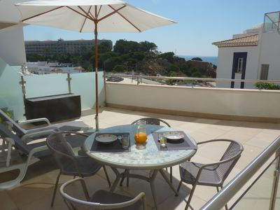 Photo for Apartment With Front Line Sea Views And Large Balcony,150m From Beach,