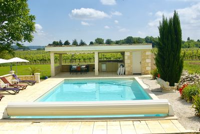 Heated pool 12x6 m