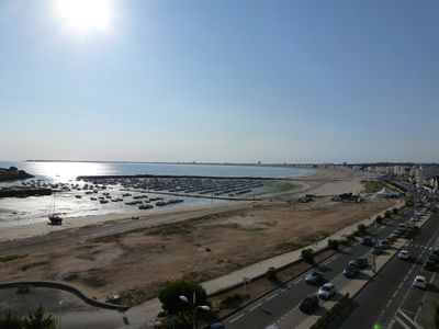Photo for PORNICHET beautiful T2 65m2 facing sea, square Hervo and 100m shops