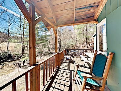 Photo for Relaxing Mountain Getaway - 3 Cozy Cabins Next to a Babbling Stream