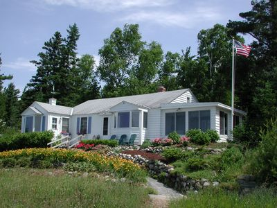 """Photo for """"Beachfront Cottage On Little Traverse Bay … Summer Fun Just Steps Away!"""""""