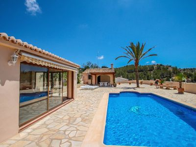 Photo for Santa Ana - pretty holiday property with garden and private pool in Benissa