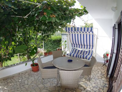 Photo for Holiday apartment in village Valbandon only 1km from the beach