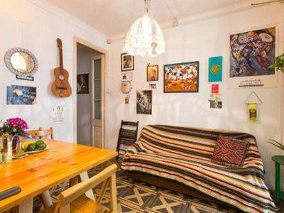 Photo for Great centric BEDROOM in Barcelona!