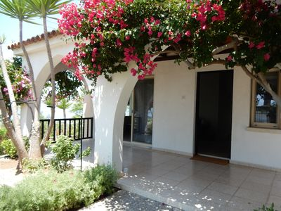 Photo for Spacious Bungalow Villa, Spectacular Sea Views, Privacy, WIFI Tala Paphos