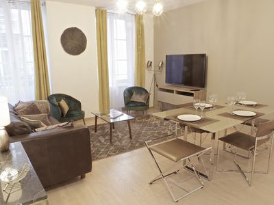 Photo for Saint Germain - Charming apartment of 66 m2 with balcony and parking