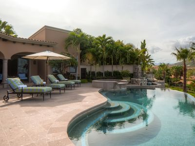 Photo for Beautiful 4 BR home w/ 2 master bedrooms and private infinity pool