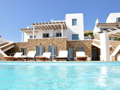 Photo for Andromeda Luxurious Myconian Villa w Private Infinity Pool & breathtaking view