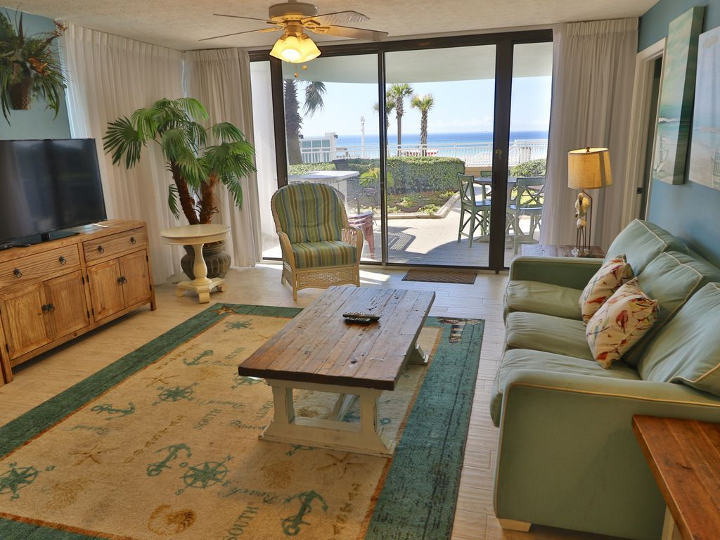 Water Crest Ground Floor Condo 3 Ground Floors Open Panama City Beach Florida Panhandle