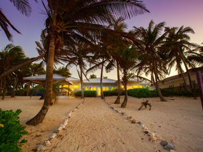 Photo for Coconut Beach: Secret Garden Oasis with Palm-Shaded Beach and Spectacular Snorkeling