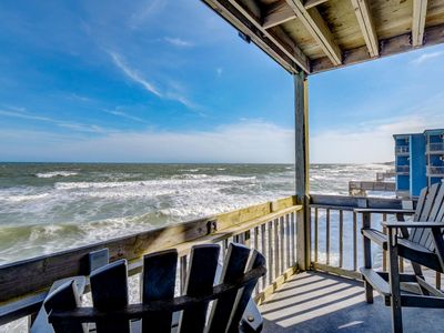 Photo for Beautiful one bedroom OCEANFRONT condo Newly Remodeled.