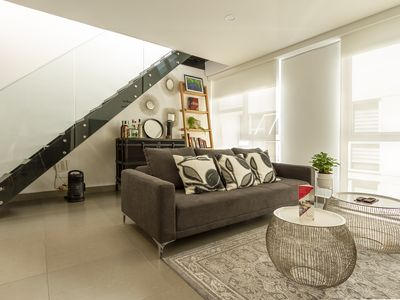 Photo for Condesa Super-Stylish 2BR PH **Private Rooftop**