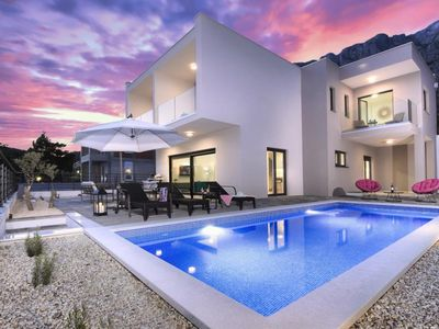 Photo for ctma231- NEW !! Villa with pool, 4 bedrooms, up to 8 people