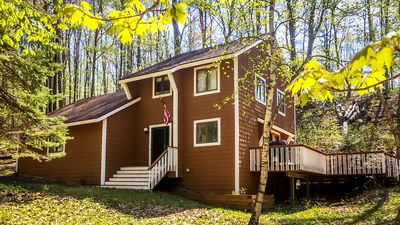 Photo for Woodland Hideway Nestled In The Forest of Birchwood Farms near Tunnel of Trees