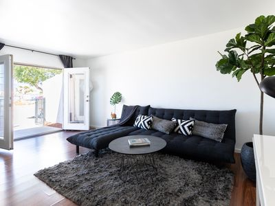 Photo for Chez 2- Spotless Designer Apartment w Nearby Pool Access