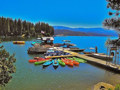 Photo for Lovely cabin nestled in the heart of Shaver Lake, walk to shops and eateries!