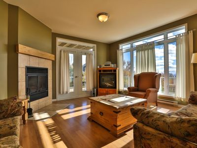 Photo for Les sommets Charlevoix - Condo-Chalet num 56 - Lower level 1 to 6 people