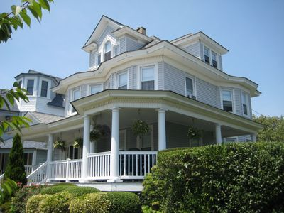 Photo for Classic Avon Shore House Half Block From Beach With Off-Street Parking
