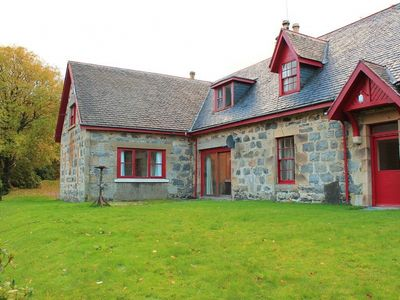 Photo for Spacious, pet friendly 4-bedroom Highland cottage with access to 12,000 acre estate