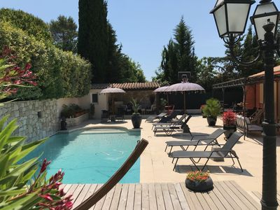 Photo for Suite in villa with pool in Mouans-Sartoux