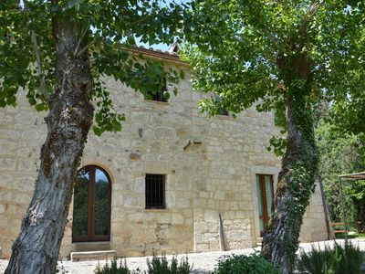 Photo for entire farmhouse in the Tuscan countryside near Montepulciano val d'orcia