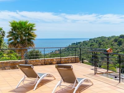 Photo for Club Villamar - Charming holiday villa located in an idyllic area with precious sea views and at ...