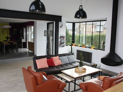 Photo for Bright and spacious house downtown Dinard 8/10 people
