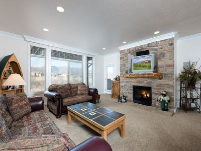 Photo for A Lakeside Mountain Condo - 3 Bedrooms near Pineview Reservoir
