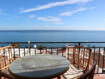 Photo for Nerja Apartment, Sleeps 4 with Air Con and WiFi