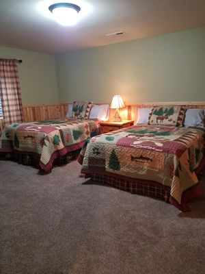 Photo for New log cabin, steps away from Yellowstone