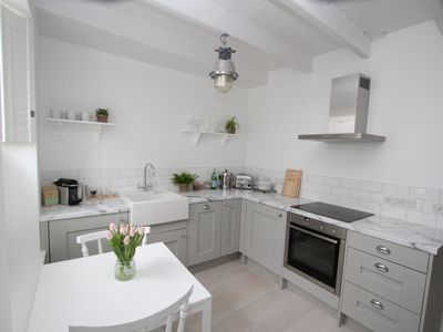 Photo for The Courtyard Mousehole, stylishly renovated boutique cottage for two