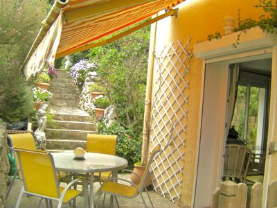 Photo for Apartment of holidays in garden level of villa in Antibes - Alpes-Maritimes