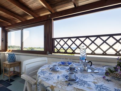 Photo for Apartment with balcony and sea view - Attico ad Otranto