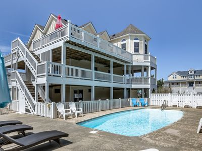 Photo for Sea Girls and A Guy | 890 ft to the beach | Private Pool, Hot Tub