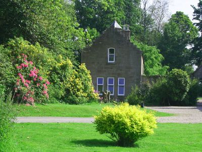 Photo for Beautiful open plan self-catering cottage surrounded by tranquil woodlands